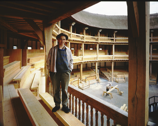 Mark Rylance Globe Theatre, Telegraph Magazine