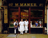 Manze Eel pie shop, Observer Magazine